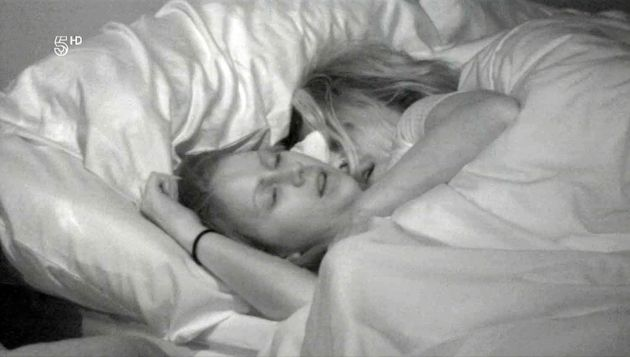 Laura and Marco enjoyed some under the covers