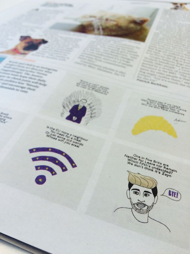 Seidl and Guggenberger's memes appeared in the Guardian's G2 magazine on