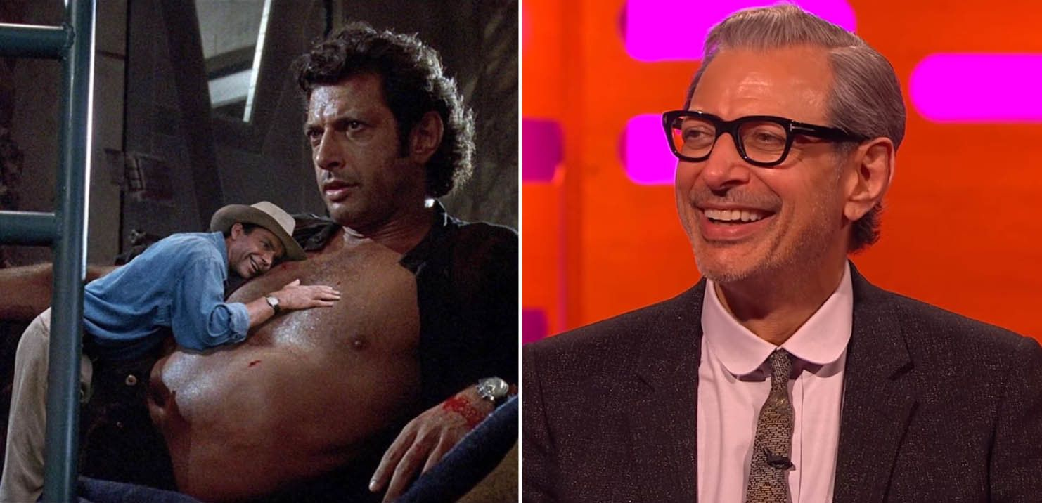 Jeff Goldblum Reacts To The Internet's Bizarre Obsession With Turning Him Into