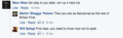 Britain First Went Camping And People Are Absolutely Ripping Them For