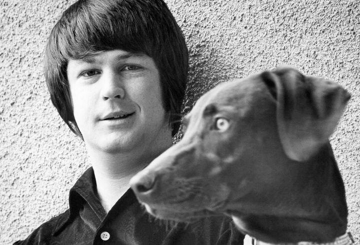 Brian Wilson circa 1965 in Los Angeles.