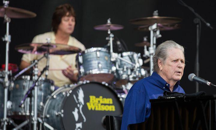 Brian Wilson at Primavera Sound on June 4, 2016.