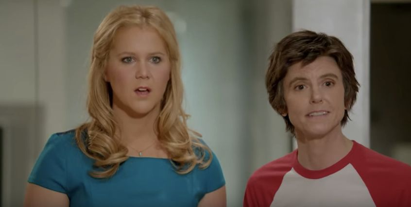"""Amy Schumer and Tig Notaro in an """"Inside Amy Schumer"""" sketch."""