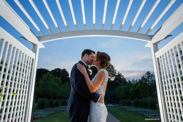 """""""Jim and Emily celebrated their wedding on Friday at Danada House in Wheaton, Illinois."""" --<i>Neringa """"Neri"""" Ridges</i>"""