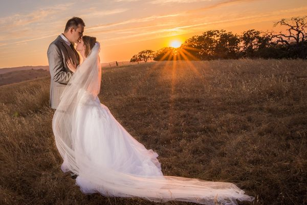 """""""Congratulations to Jeremy andErin! They tied the knot this Saturday in a beautiful backyard ceremony in Hollister, Cal"""