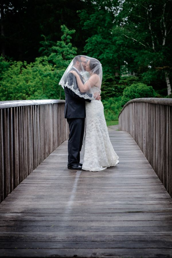 """""""Ashley and Paul got married this Saturday in Durham, New Hampshire."""" --<i>Christophe Z.</i>"""
