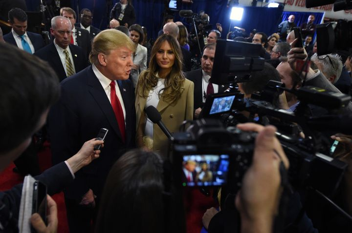 The largely positive media coverage Donald Trump received in 2015 helped catapult him to the top of GOP primary polls.
