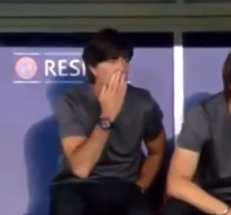 German Football Coach Joachim Löw Caught Touching Himself, Smelling Fingers During Euros