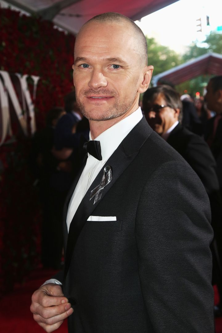Neil Patrick Harris attends 70th Annual Tony Awards at Beacon Theatre on June 12, 2016, in New York City.
