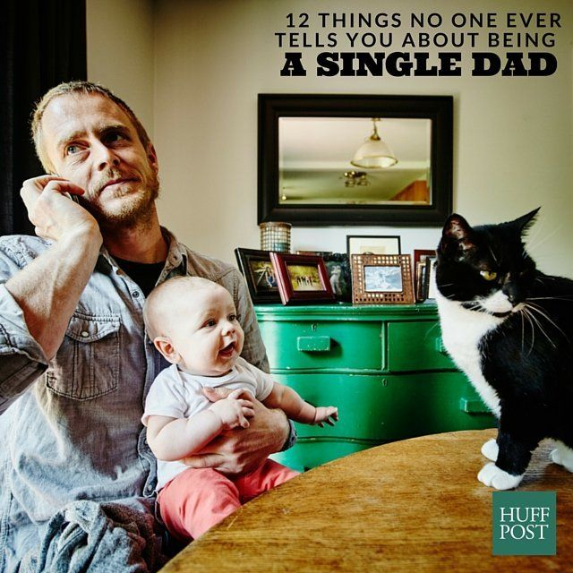 advice for newly single dads
