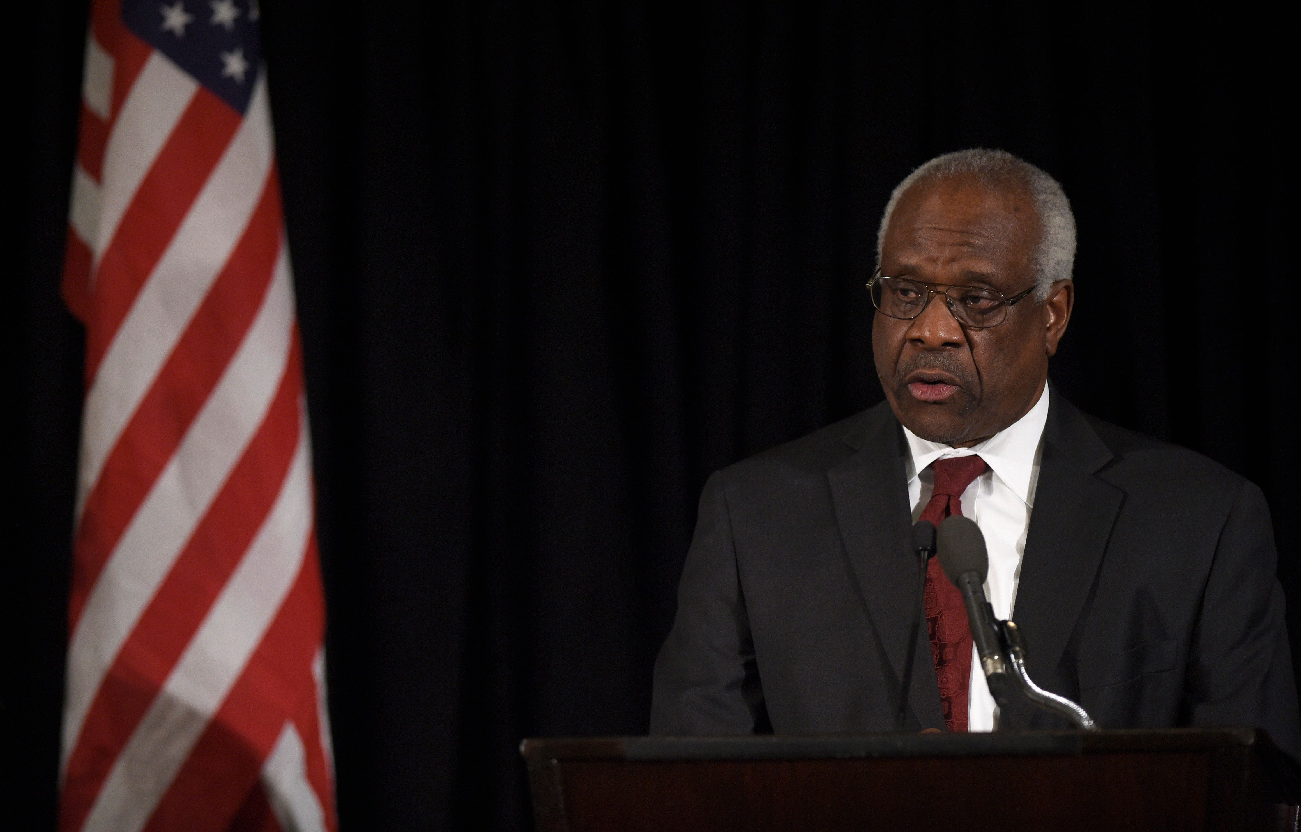 Justice Clarence Thomas wrotethe opinion striking down a local Puerto Rican law onbankruptcy.