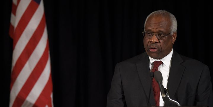 Justice Clarence Thomas wrote the opinion striking down a local Puerto Rican law on bankruptcy.