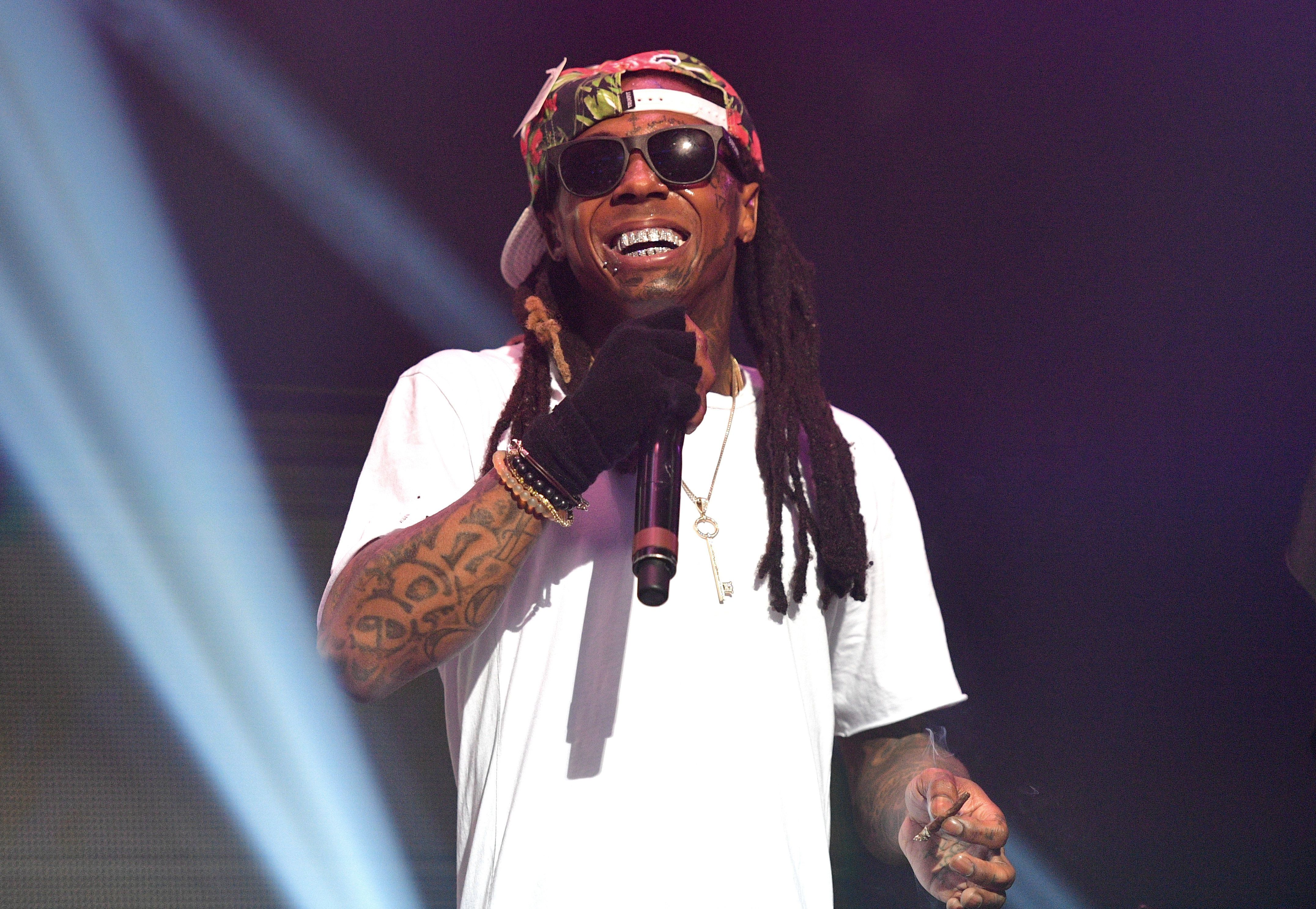 Lil Wayne Performs at Tidal X Collegrove at The Tabernacle on March 30, 2016 in Atlanta, Georgia. (Photo by Prince Williams/WireImage)