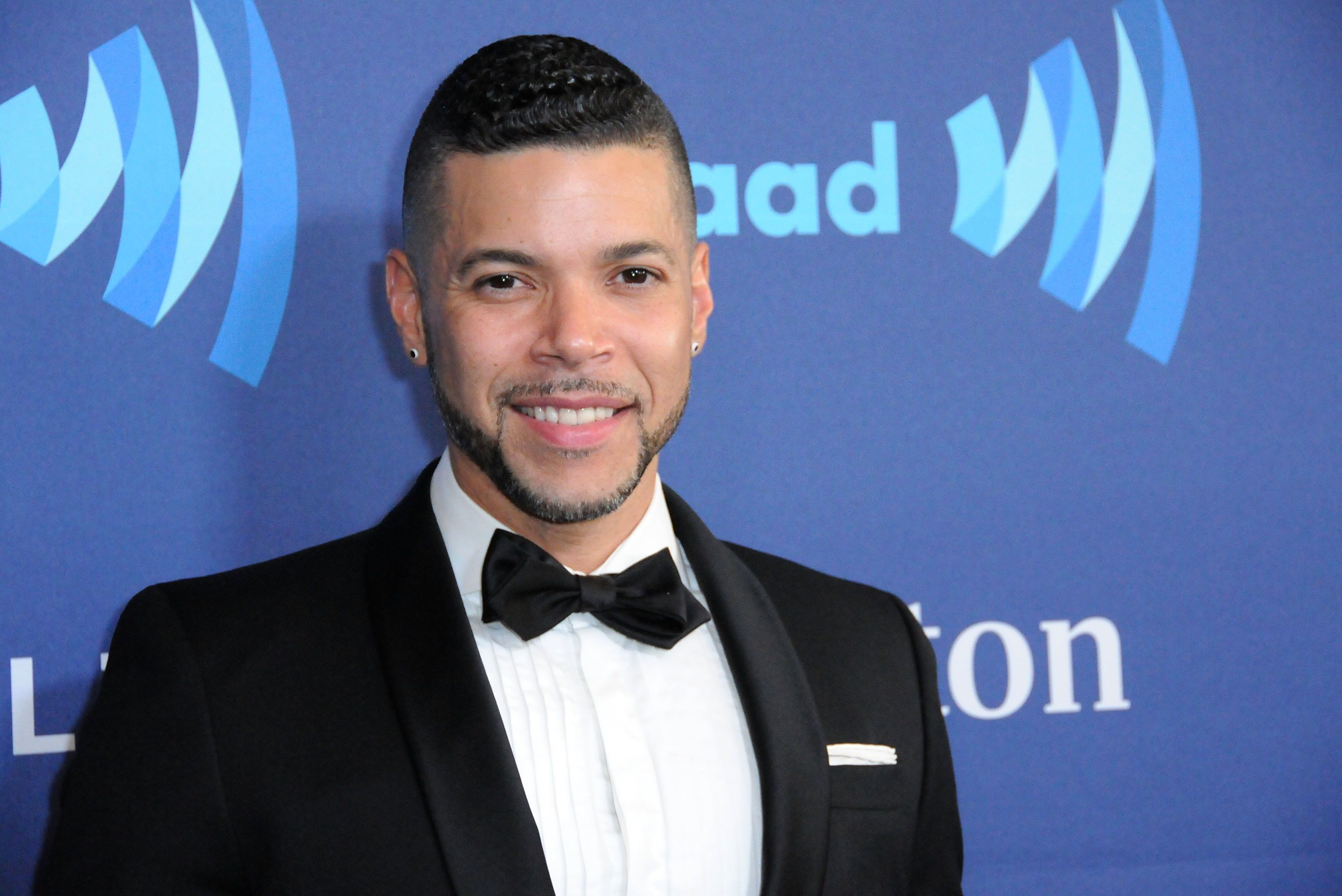 BEVERLY HILLS, CA - MARCH 21:  Actor Wilson Cruz arrives at the 26th Annual GLAAD Media Awards at The Beverly Hilton Hotel in Beverly Hills, California.  (Photo by Barry King/Getty Images)