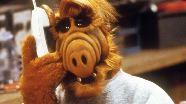Michu played ALF whenever a full shot of the friendly alien was