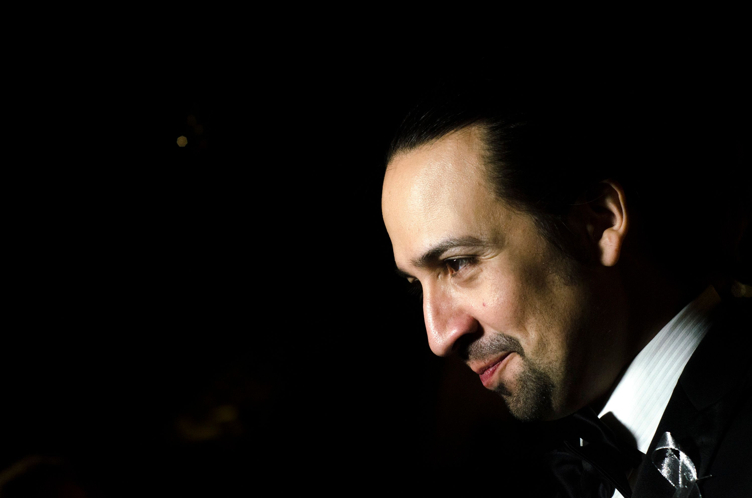 NEW YORK, NY - JUNE 12:  Lin-Manuel Miranda poses for photographers during the 'Hamilton' Tony Awards After Party at Tavern On The Green on June 12, 2016 in New York City. (Kris Connor/Getty Images)