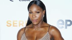Serena Williams Steps Out In A Thigh High Slit AND A Crop