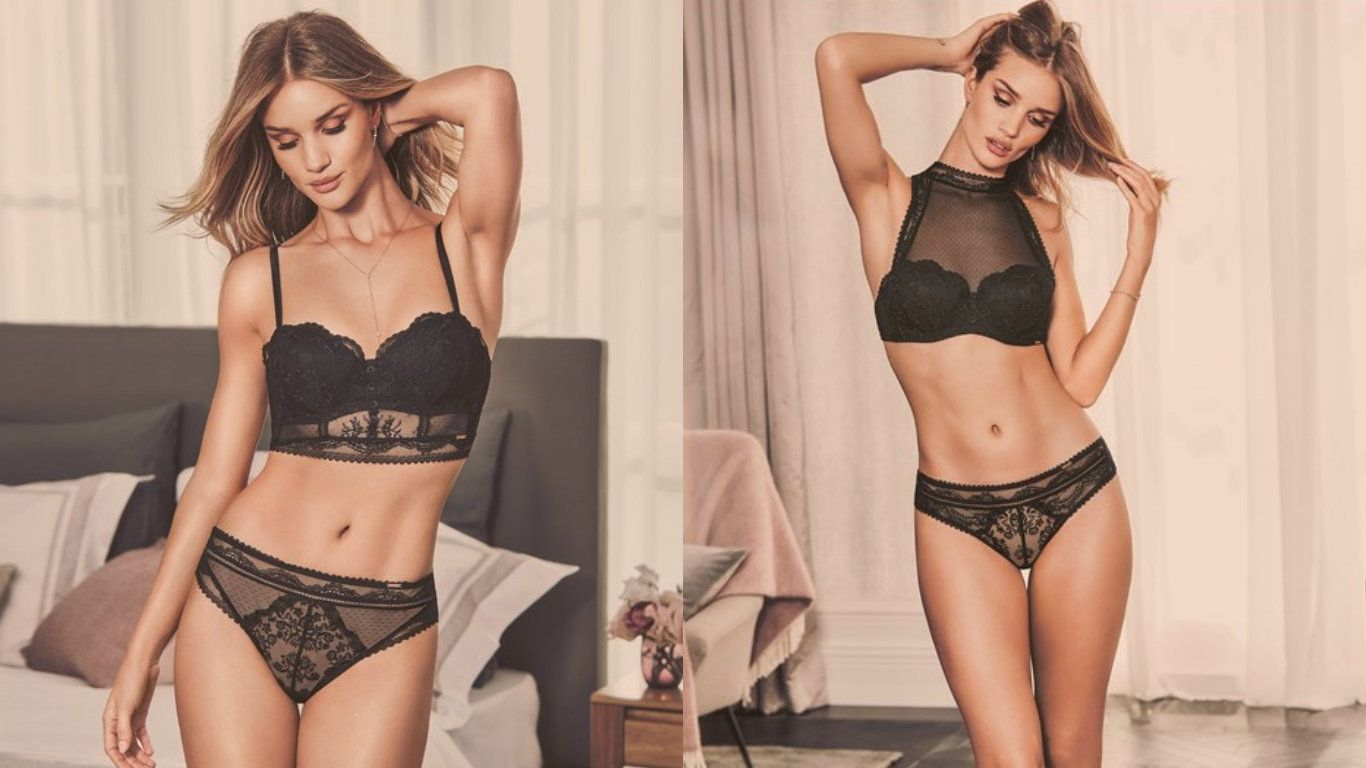 Rosie Huntington-Whiteley's New M&S Lingerie Is Her Sexiest