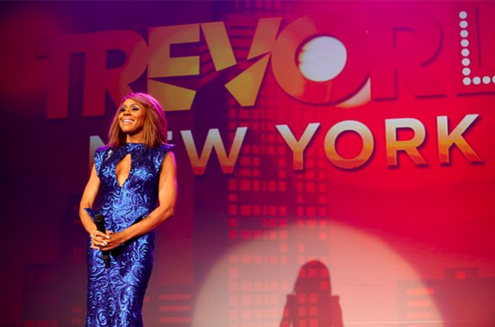 Deborah Cox performs onstage at the Trevor Project's TrevorLive event in New York, Monday, June 13, 2016.