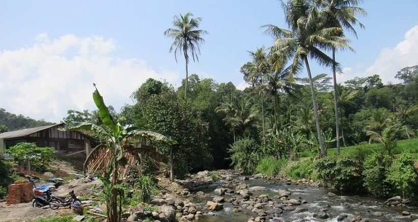 Rumah Kinangkung village in Indonesia