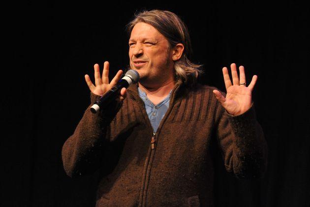 Richard Herring performs at the Edinburgh