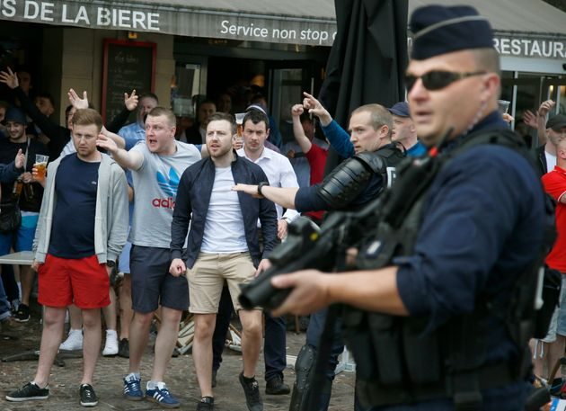 Russian Ultras Suspected Behind 'Attack On England And Wales Fans' In Lille At Euro