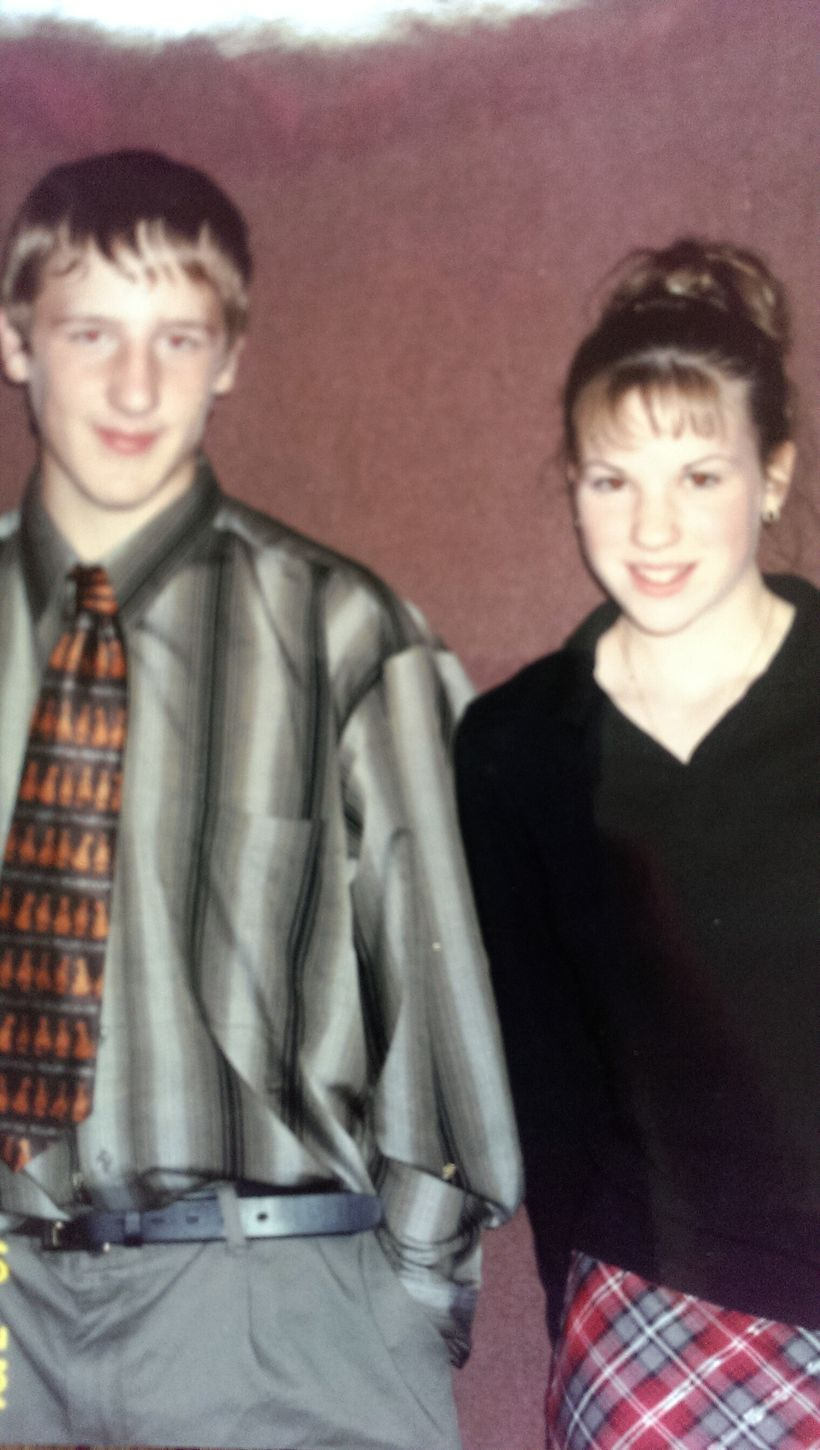 Chad and Lindsay, Eighth Grade