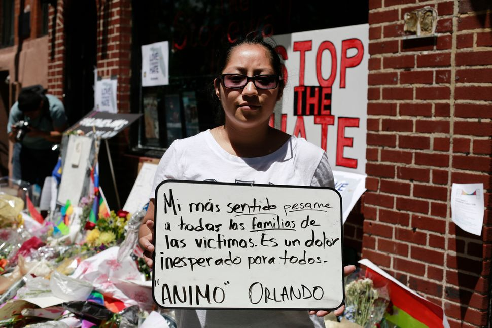 "Alfonsa Coyotl, of Mexico, writes: ""My deepest condolences to all the families of the victims. It's an unexpected pain for al"
