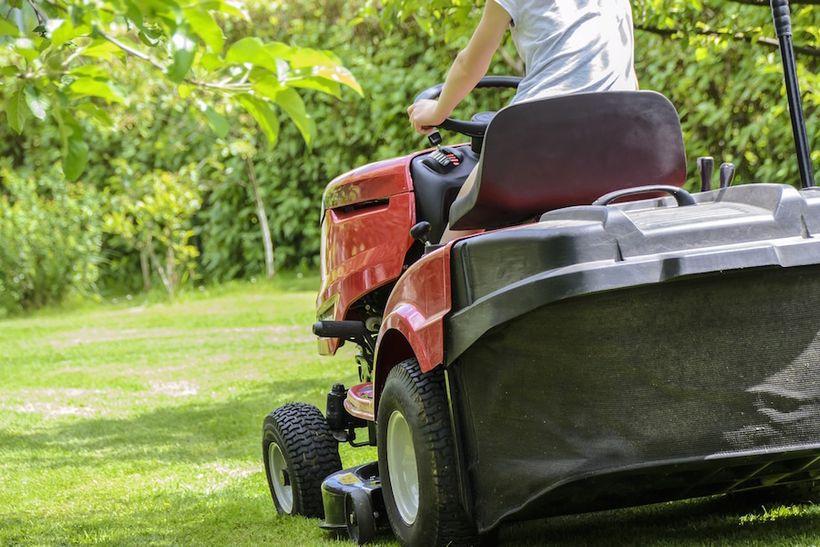 Each summer, thousands of U.S. teens mow lawns to make money.