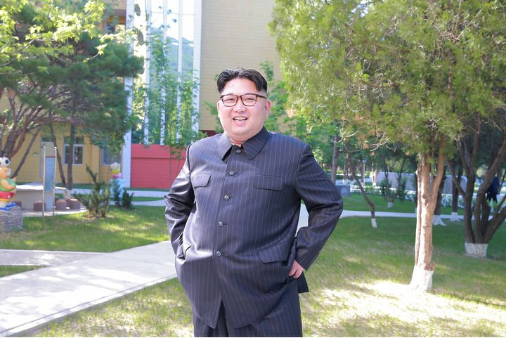 Undated picture released from North Korea's official Korean Central News Agency on June 4, 2016 showing leader Kim Jong-Un in