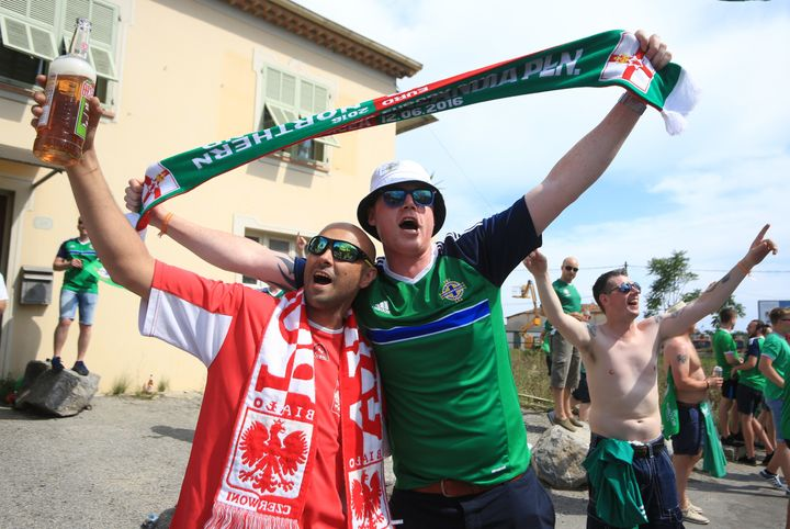 Different nationalities, same love for soccer.