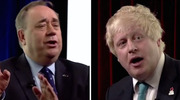 The interview between Salmond and Johnson drew parallels withthat of Paxman and Michael Howard's