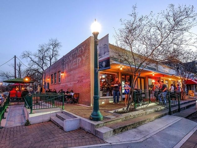 The historic square in Georgetown, Texas, exudes small-town charm.