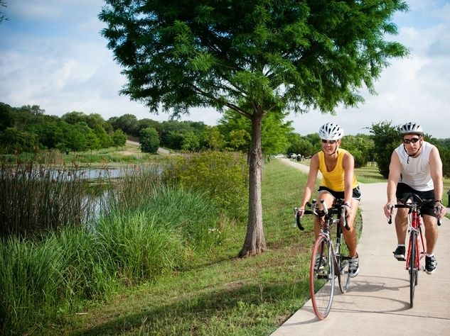 A robust park system is among the amenities that draw new residents to Georgetown, Texas.