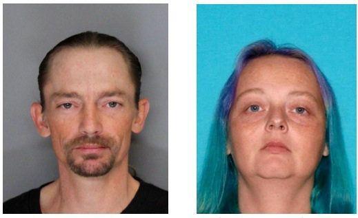 "Jason ""Travis"" Simon, 37, and Sarah Joy VanOcker-Dunn, 36, are believed to have been on the run since June 2."