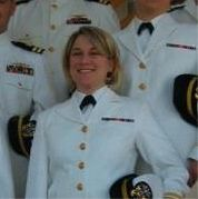Hayes pictured serving as a physician for the U.S. Navyin 2005.