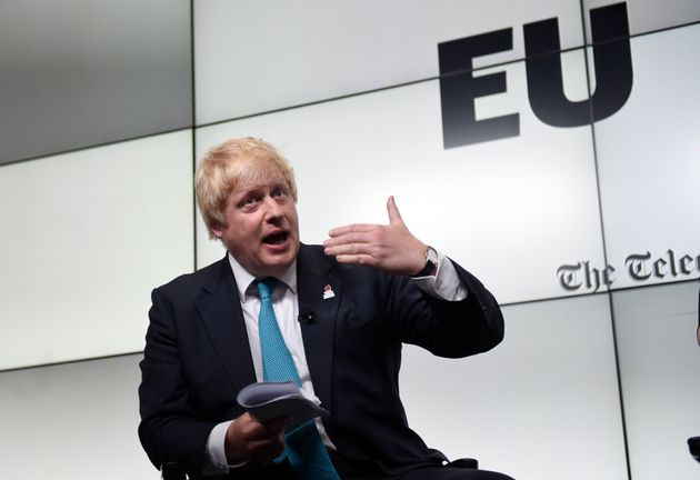 Former mayor of London and prominent pro-Brexit leader Boris Johnson said immigration has become a hot...