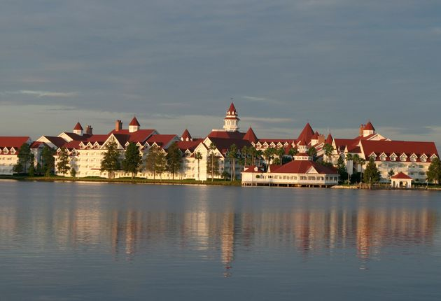 The Grand Floridian Resort and Spa located in the Magic Kingdom at Disney World in Orlando, Florida,...