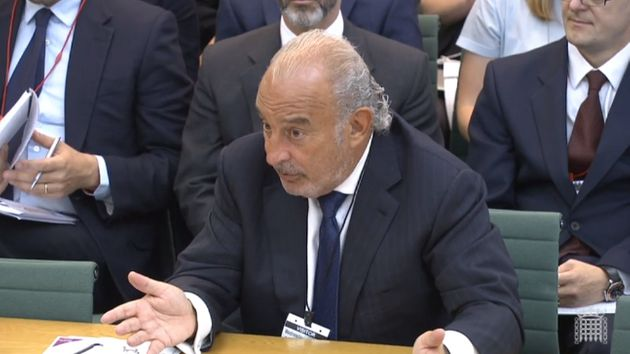 Philip Green Tells Tory MP To Stop Looking At Him Weirdly In Bizarre Committee