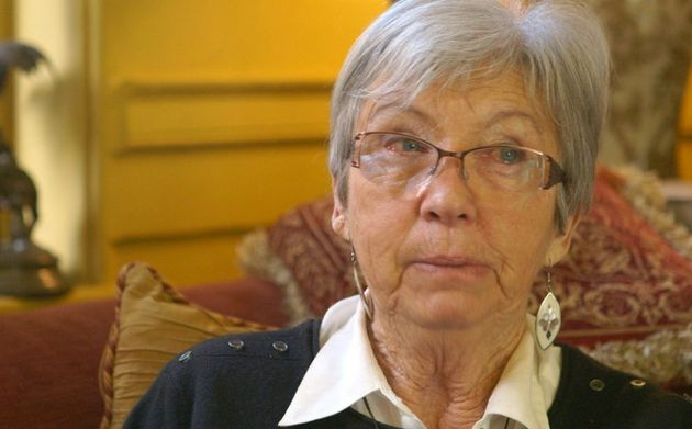 Sylvia Woosleytellsthe ITV Exposure documentary that Sir Clement Freudmolested her...