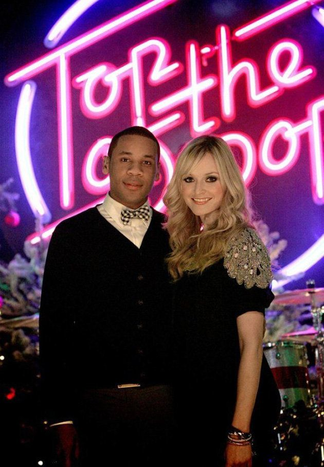 Reggie still hosts the festive 'TOTP' specials with Fearne