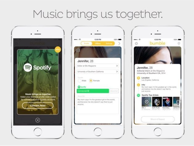 Spotify And Bumble Will Finally Let You Judge Matches Based On Their Music