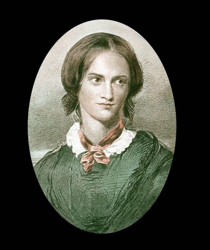 Portrait of novelist Charlotte Brontë.