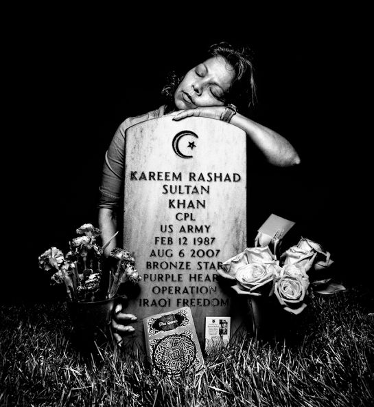 Photographer Platon spoke of the image that cause Colin Powell to support President Obama in 2008.