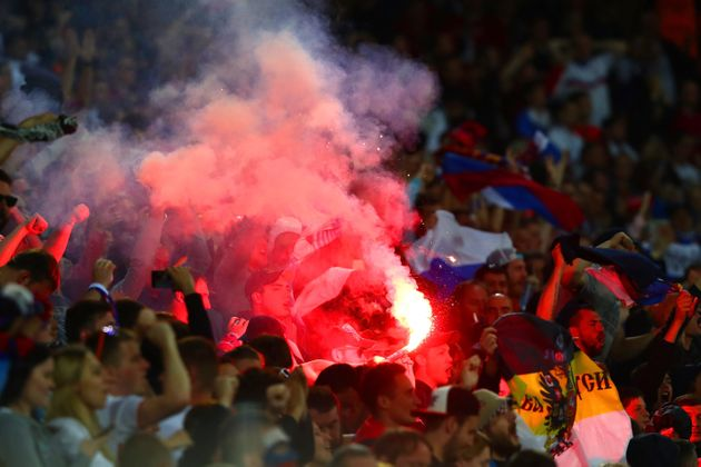 Euro 2016 Trouble Continues In Lille As Riot Police Use Tear Gas On England