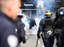 Tear Gas And Batons Used On England Fans As Trouble Kicks Off In Lille Again