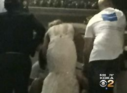 Bride Saves The Day After Coming To Unconscious Woman's Rescue