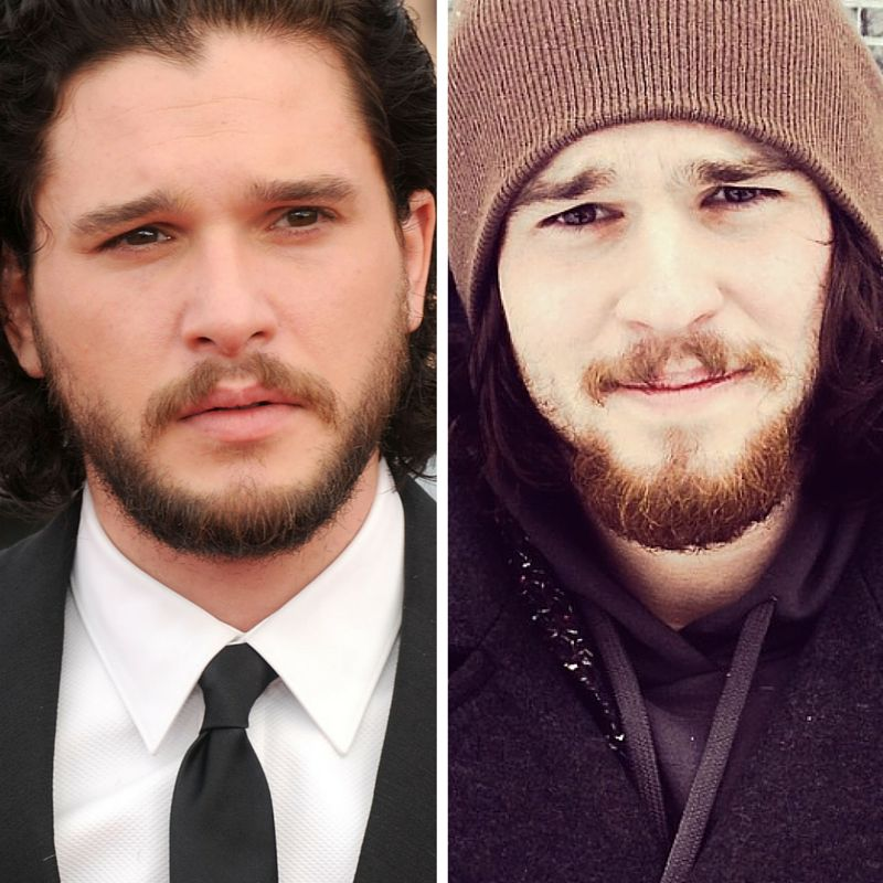 Kit Harington is on the left, in case you were wondering.