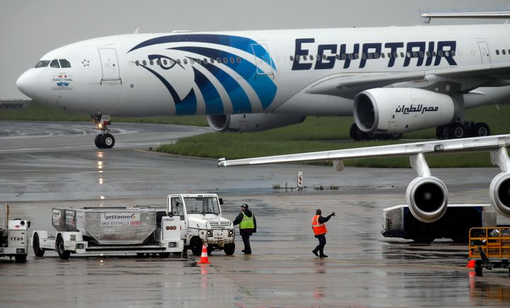 EgyptAir Flight MS804 crashed into the Mediterranean sea last month.Search teams have been desperately trying to locate