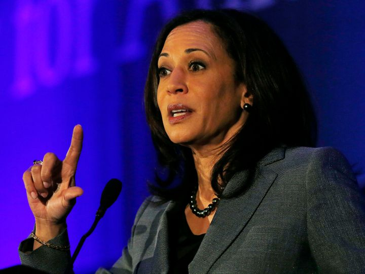 California Attorney General Kamala Harrisis seen as a rising star on the national stage.